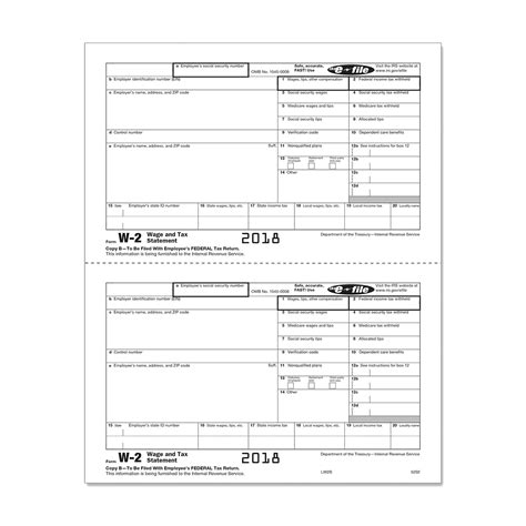 form 2 copy employee federal irs 5202 mines