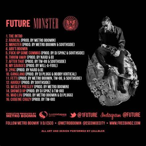 mixtape future monster rap radar