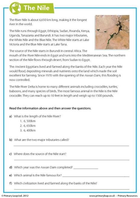 Comprehension Worksheets For Year 6 Students.html