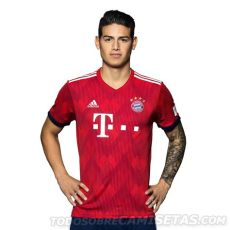 kit dls bayern munich 201819 bayern munich 2018 19 adidas home kit todo sobre camisetas