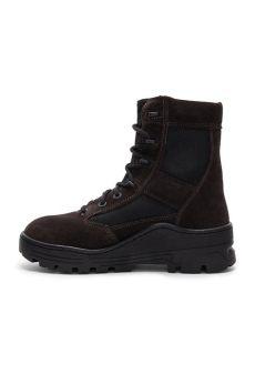 yeezy sale season 4 yeezy season 4 combat boot in black for lyst