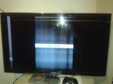 como reparar una pantalla led con rayas verticales rayas horizontales en pantalla led samsung un46d6000sfxza yoreparo