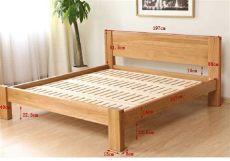 camas matrimoniales de madera sencillas cama matrimonial de madera modelo cm m 002 bs 68 62 en mercado libre