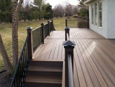 vinyl deck flooring price pvc deck boards price discontinued trex origins decking for sale cheap flooring for porch