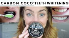 carbon coco reviews carbon coco teeth whitening review demo activated charcoal tooth