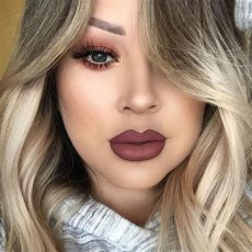 girlactik matte lip paint in posh love you i me a ombr 233 lip girlactik matte lip paints in demure and posh lashes