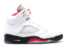 air 5 retro quot 2013 release quot air 136027 100 white black flight club - Air Jordan 5 Retro White