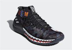 bape x adidas dame 4 retail price bape adidas dame 4 camo black release date sneaker bar detroit