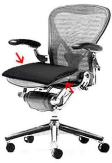 herman miller aeron chair parts accessories new office parts and accessories cushion for herman miller aeron chairs at furniture finders