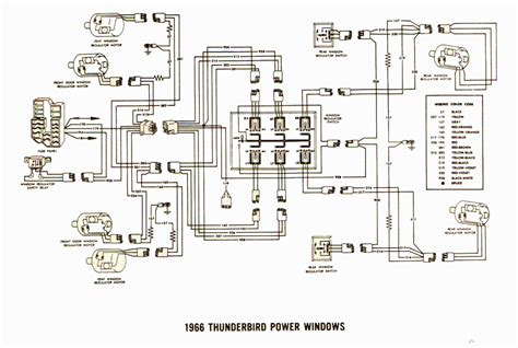 current troubleshooting power windows 1966 ford thunderbird stopped
