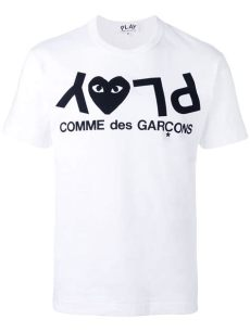 comme des gar 231 ons play t shirt dame buhl fashion - Comme Des Garcons Play T Shirt Dame