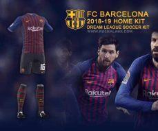 barcelona new kit 201819 dls kuchalana dls 19 barcelona logo logo keren