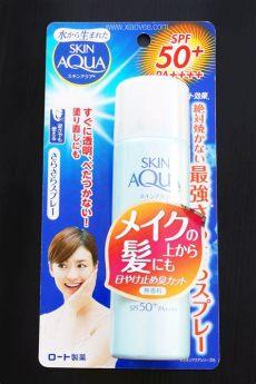 skin aqua sarafit review xiao vee skin aqua sarafit uv mist spf50 pa review