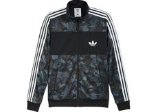 bape x adidas abc camo track jacket black fw16 - Bape X Adidas Track Jacket Black