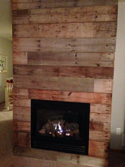 reclaimed barn wood fireplace makeover diy pinterest