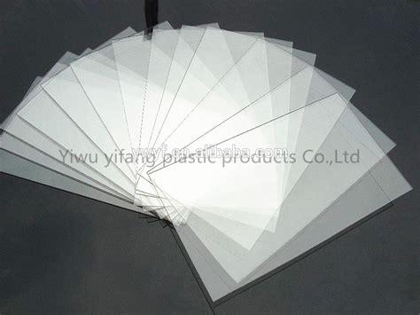 thin clear plastic sheet polystyrene sheet pmma acrylic