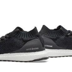 adidas ultra boost 30 black grey adidas ultra boost uncaged carbon black grey end