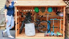 diy bike storage shed diy bike storage shed 3x3 custom