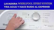 como resetear lavadora whirlpool 20 kg xpert system lavadora whirlpool xpert system tira agua y hace ruido al exprimir como repararla