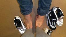 foosites nike boots nike airmax 97 footsie and shoe