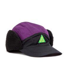 nike sportswear acg tailwind sherpa cap black purple ar0497 011 - Nike Acg Sherpa Cap