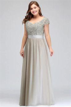 vestido noche largo corte a tallas corte a gasa bordad 2 799 00 en mercado libre - Sears Vestidos De Noche Tallas Extras