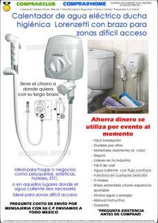 calentador de agua electrico lorenzetti mexico calentador agua el 233 ctrico lorenzetti brazo ducha higi 233 nica 1 299 00 en mercado libre