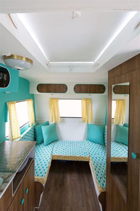 Vintage Camper Van Interiors