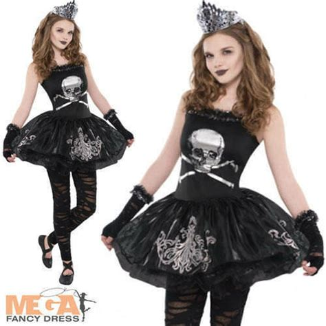 zombie ballerina ages 8 16 girls halloween fancy