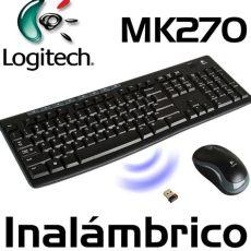 teclado inalambrico logitech teclado mouse inalambrico logitech mk270 u s 42 49 en mercado libre