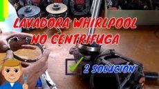 mi lavadora whirlpool no centrifuga 2 - Mi Lavadora Whirlpool No Centrifuga Que Hago