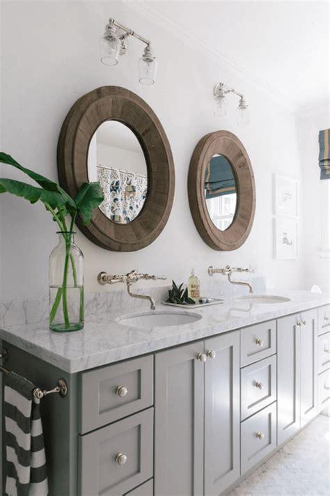 25 cool bathroom mirrors design swan