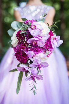 brautstrau 223 mit orchideen und hahnenkamm heiraten mit braut de - Was Kostet Ein Brautstrauss Mit Orchideen