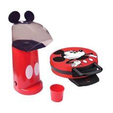 maquina para hacer palomitas de mickey mouse waflera y maquina de palomitas de disney mickey mouse 1 499 49 en mercado libre