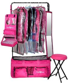 dance competition bag with rack pack 2 rack rolling foldable bag competition bag accessories ballet bag
