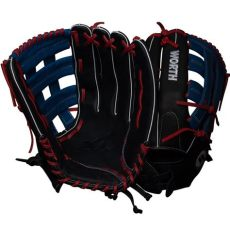 worth 15 inch softball glove worth xt 15 quot slowpitch softball glove wxt150 ph smash it sports