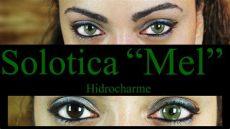 solotica contacts on dark eyes solotica hidrocharme quot mel quot lenses on demo review