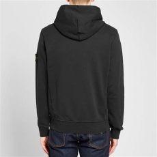 stone island garment dyed popover hoody island garment dyed popover hoody black end