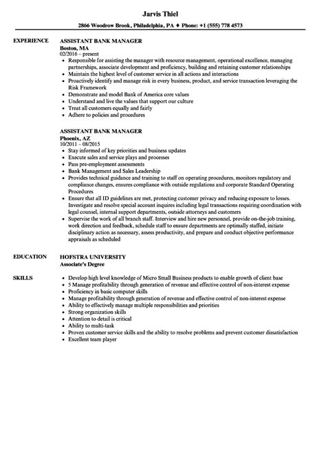 assistant manager resume ipasphoto