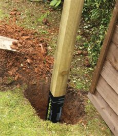 postsaver amazon 75mmx75mm square fence post with postsaver fencing stewart timber