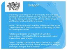 dragon zodiac sign personality zodiac