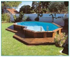 above ground pool wooden deck kits 20 ideas for above ground pool with deck packages best collections home decor diy