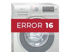 error e18 lavadora balay errores lavadoras balay arregla los problemas que te est 225 dando