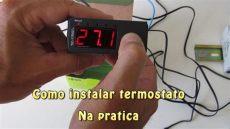 como poner el termostato como instalar termostato na pr 225 tica