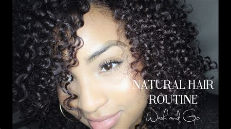 natural hair routine wash youtube