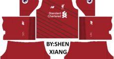 liverpool 2018 kits dls fts - Dls 18 Kit Liverpool 1819