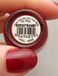 opi blues for red swatch never without stash swatch initiative opi got the blues for