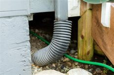 how to unclog a downspout from the ground how to unclog underground gutter drain piping hunker
