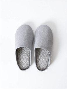 sasawashi room shoes grey morihata - Sasawashi Room Shoes Grey