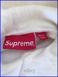supreme white tonal box logo hoodie supreme white tonal box logo hoodie size small fw14